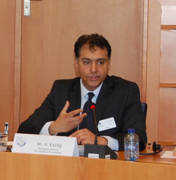Haras Rafiq, Managing Director, Quilliam Foundation