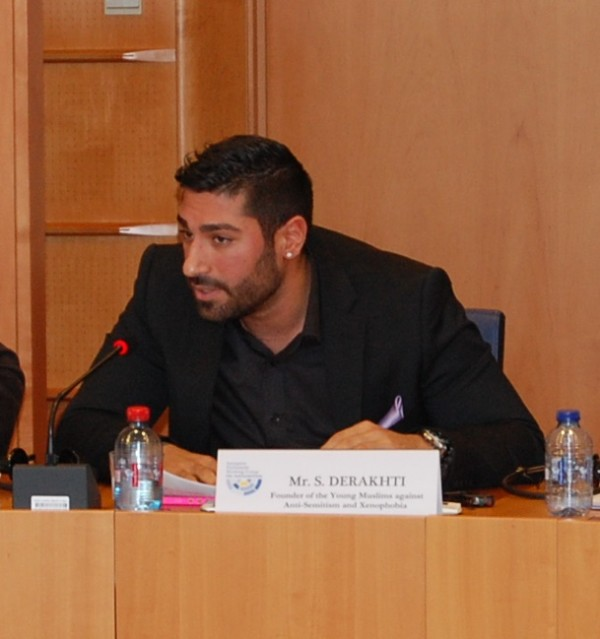 Siavosh Derakhti (Founder of Young People Against Anti-Semitism and Xenophobia)