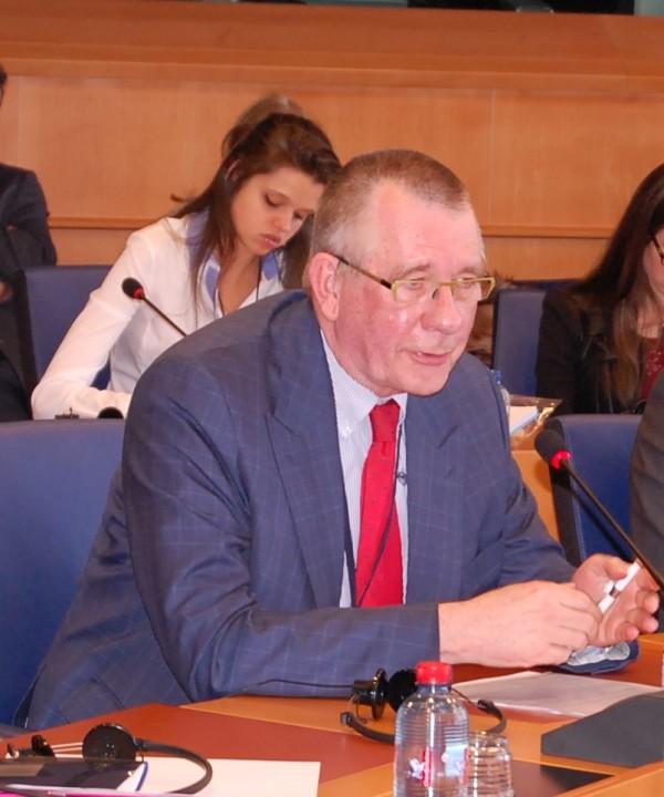 MEP Dennis de Jong (The Netherlands, GUE-NGL)