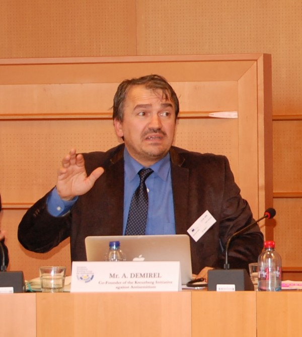 Aycan Demirel (Co-founder of the Kreuzberger Initiative against antisemitism)