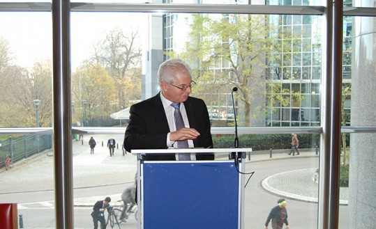 WGAS Vice Chair MEP Heinz Becker