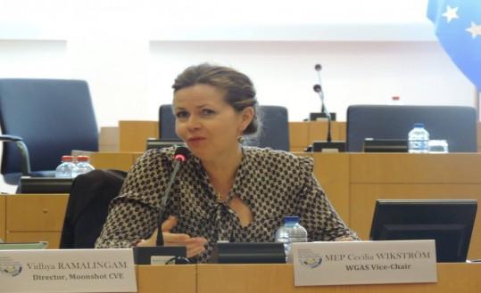 MEP Cecilia Wikström, WGAS Vice-Chair (Sweden, ALDE)