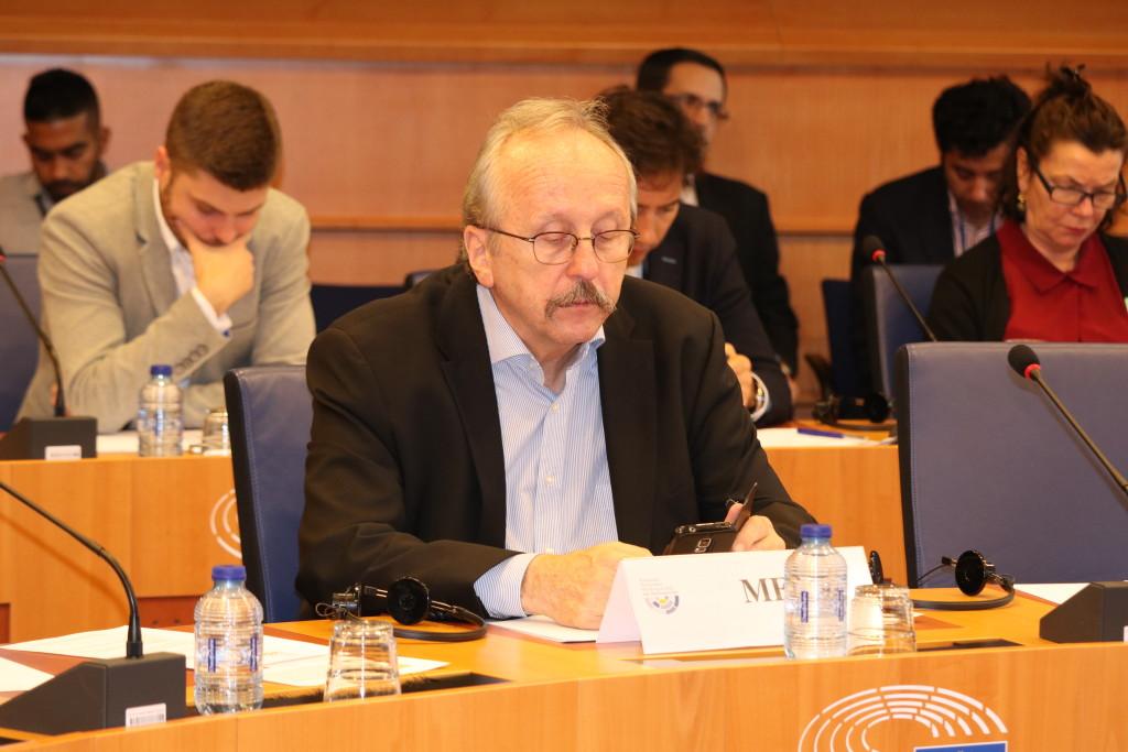 MEP Péter Niedermüller (Hungary)