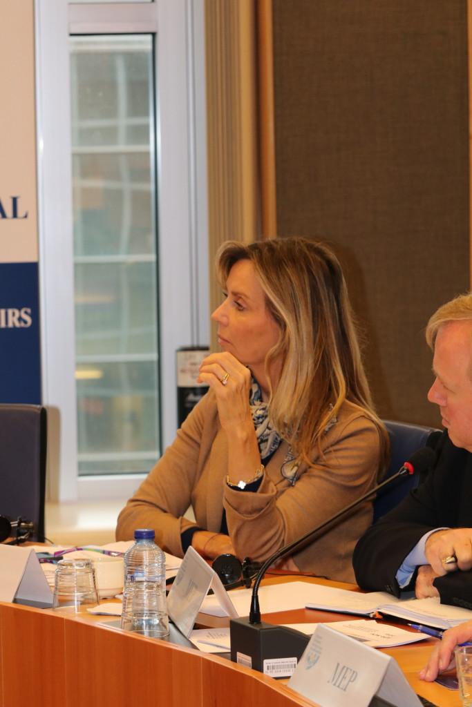 MEP Frédérique Ries (Belgium)