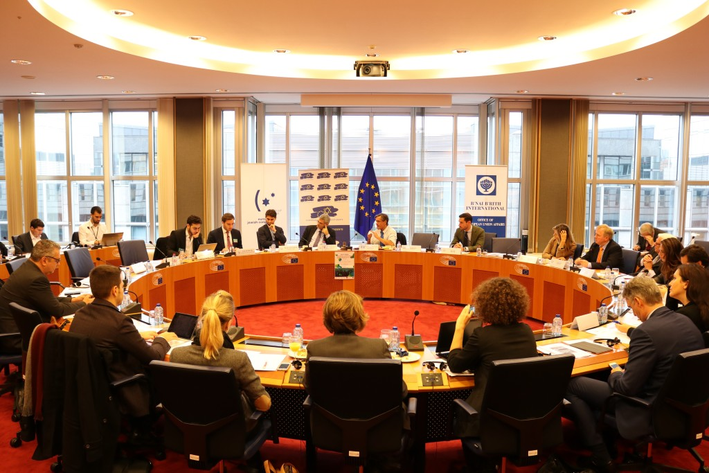 EP Working Group on Antisemitism Meeting