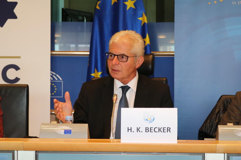 MEP Heinz Becker WGAS Chair (EPP/Austria)
